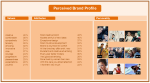 Present the profile of your brand
